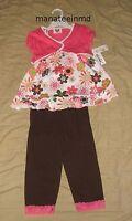NWT Little Lass Toddler Girls Size 4T 3 Piece Set Outfit Jacket Shirt Pants NEW