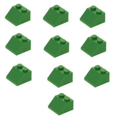 3039 Lego ® 10x Dachstein oblique Pierre 2x2 45 ° Vert 303928