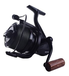 NEW-Sonik-Vader-X-8000RS-Spod-Reel-Loaded-With-200m-30lb-Braid-VXR080RSPD