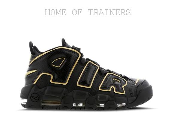 Nike Nike Nike More Uptempo'96 nero oro Uomo Scarpe da ginnastica Tutte Le Taglie | Più economico  | Scolaro/Signora Scarpa  51bd62