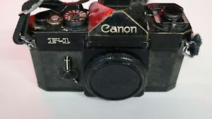 Canon-NEW-F-1-35mm-camera-Body-Only-f-s-with-strap-The-Antique-Old-Camera