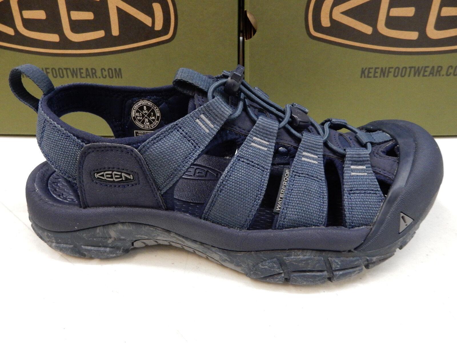 Keen Mens Newport H2 bluee Nights Swirl Outsole Size 11.5