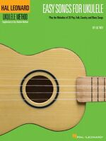 Easy Songs For Ukulele - Hal Leonard Ukulele Method Fretted Book 000695905