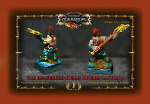 Berserker Dwarf of Fire Canyon 2 METAL