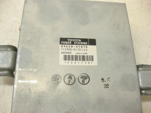 2001 TOYOTA PRIUS POWER STEERING CONTROL MODULE 89650-47070 OEM 01 02 03