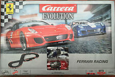 CARRERA Evolution 25171 FERRARI RACING 1:32 TRACK & Auto Set RARO (CA25171) Nuovo con Scatola