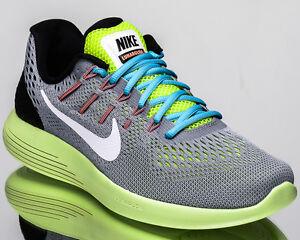 Nike Lunarglide 8 VIII men running run shoes NEW wolf grey volt white 843725-017