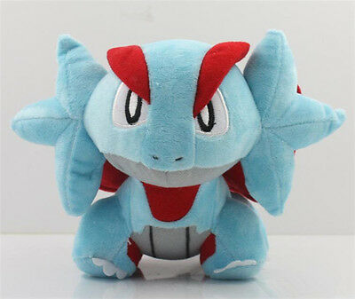"6"" Cute Pokemon Salamence Kids Toy Soft Plush Stuffed Doll Toy Birthday Gift New"