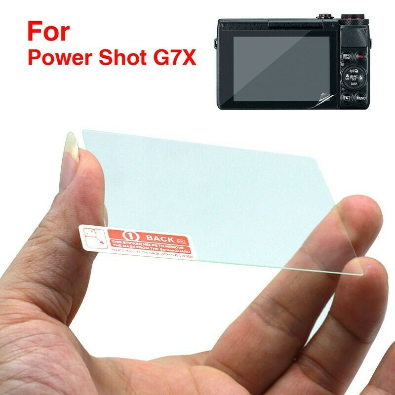 9H Clear LCD Screen Protector Film For Camera Canon Powershot G7X Mark II G5X