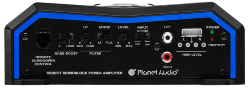 NEW 1500w Monoblock Car Subwoofer Amplifier.Power Speakers subs Amp.2Ohm.Bass.AB