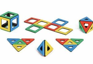 Magnetic-Polydron-32-Piece-Set-Educational-Construction-Toy-Christmas-Gift