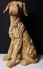 HomeZone Sitting Labrador Sculpture Wood Effect (5017403114598)