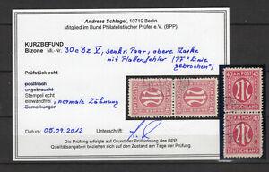 Bizone 30 C BZ con PF V nel Norm. COPPIA-TIMBRATO-KB Schlegel BPP - (gm154)