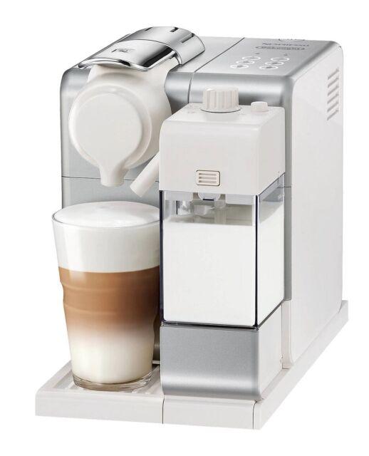 DeLonghi Nespresso Lattissima Touch Coffee Machine Automatic Milk Silver C Grade