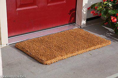 Plain Coir Coco Doormat 1 Quot Thick Ebay