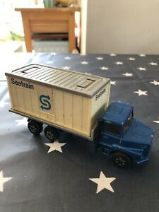PLAYED-WITH-CONDITION-Corgi-Juniors-Scania-Seatrain-Container-Lorry