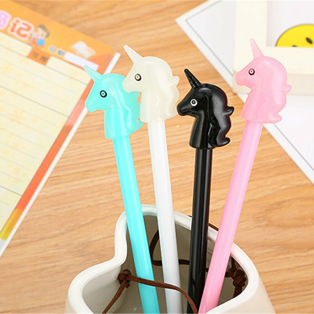 7Pcs Cute Kawaii Lovely Funny Cartoon Novelty Radish Carrot pen Gel Ink Pens New