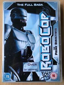 ROBOCOP-4-Pelicula-Longitud-EPISODIOS-DE-1994-Culto-Series-RARO-GB-DVD
