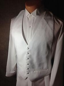 Lord-West-Basic-White-Tuxedo-Vest-XL-Extra-Large-48-54