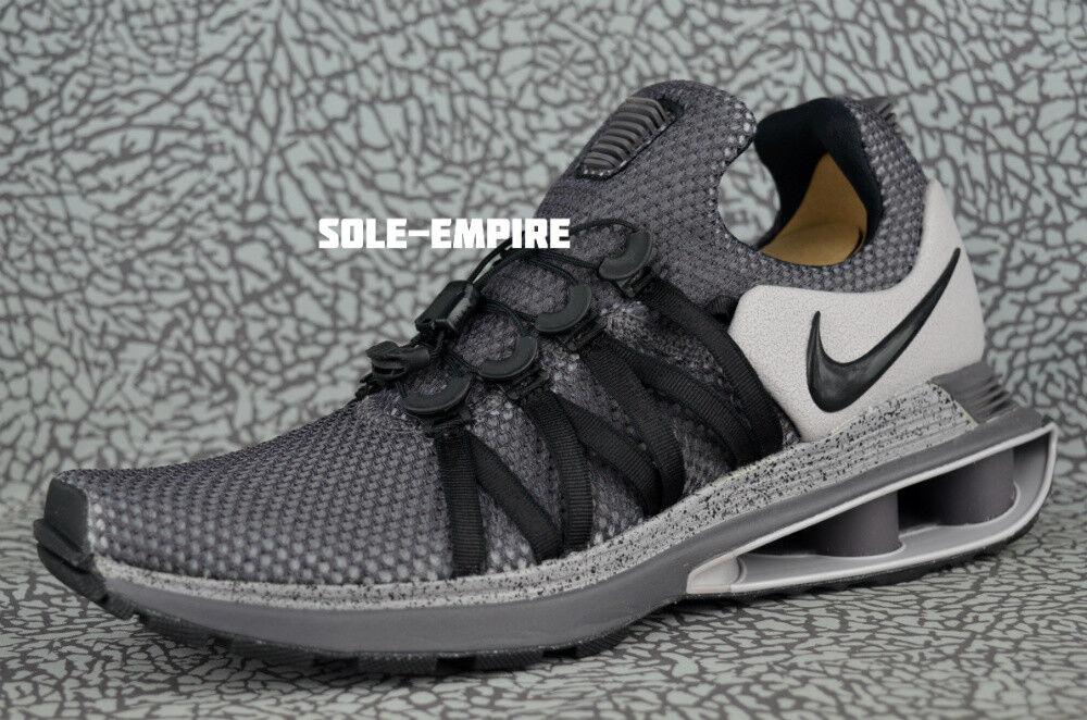 Nike shox gravità ar1999-011 atmosfera neri uomini nuovi msrp vendita