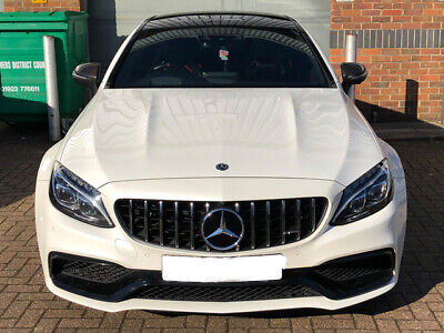 AMG C63 Panamericana Grille W205 C205 C CLASS FROM JULY 2018 WITHOUT 360 CAMERA THIS WILL NOT FIT THE C63