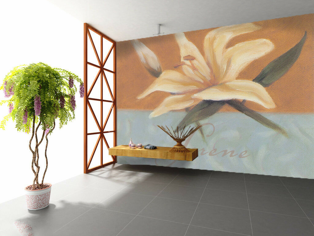 3D Lily Decoration Art 45 Wall Paper Wall Print Decal Wall Deco Indoor Mural