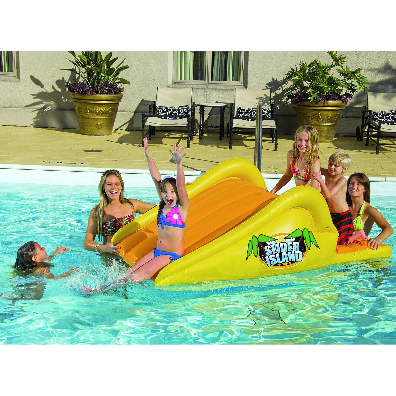 Water Slides Pool Slide Inflatable For Pool Above Ground Kiddie Inground Kids