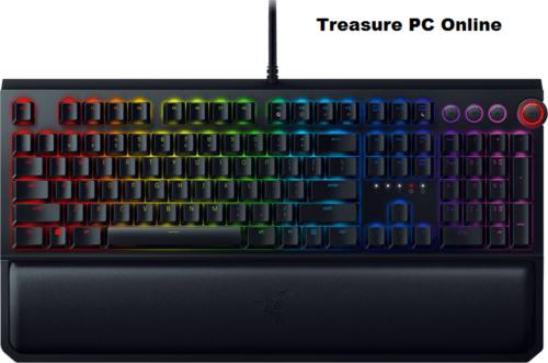 Razer Black Widow Elite Mechanical Gaming Keyboard Green Switches Rz03 02620100 by Razer