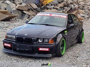 BMW-e36-Kit-de-cuerpo-ancho-Fender-Bengalas-de-extensiones-de-arco-90mm-3-5-034-4-un