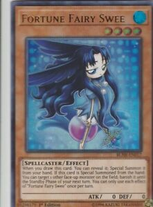 YUGIOH-HOLO-CARD-1-X-FORTUNE-FAIRY-SWEE-BLHR-EN017-1ST-EDITION