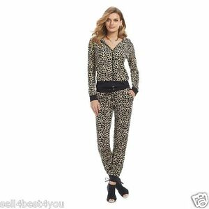 Image is loading NWT-Juicy-Couture-Velour-Tracksuit-Leopard-Women-Jacket- 5a77afdbab