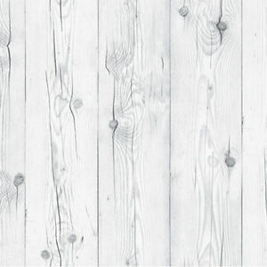 Contact Paper White Wash Wood Effect Self Adhesive