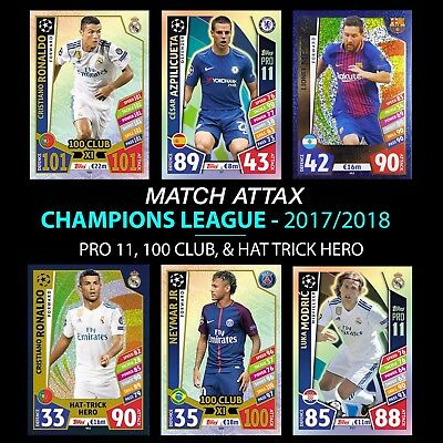 Match Attax Liga de Campeones 2019-100 Club XI
