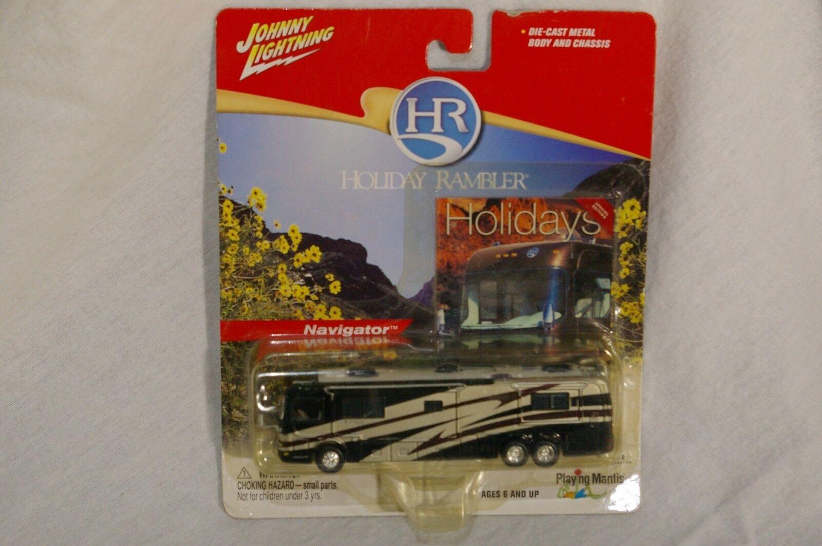 Johnny Lightning Navigator Holiday Rambler DIE-CAST motor home