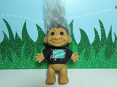 "AGED TO PERFECTION - 5"" Russ Birthday Troll - NEW IN ORIGINAL WRAPPER"