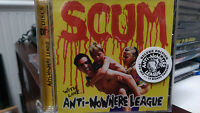 Anti-nowhere League Scum Cd Punk Rock Fucked Up & Wasted Pig Iron London Boys