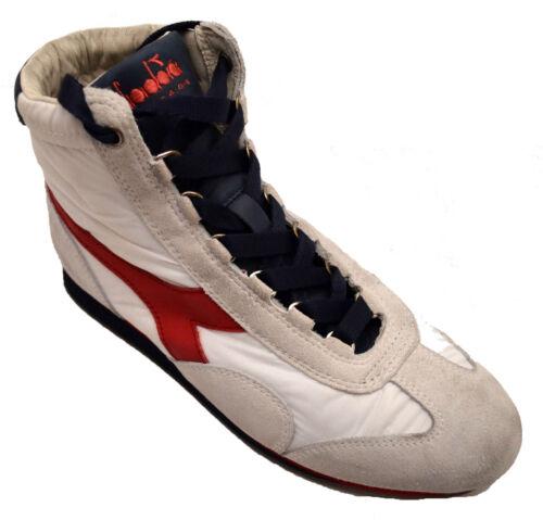 Diadora Sneakers Heritage Heren Leren 158928 Witrood Schoenen Vintage Man Vrouw Dames wOmN8vn0