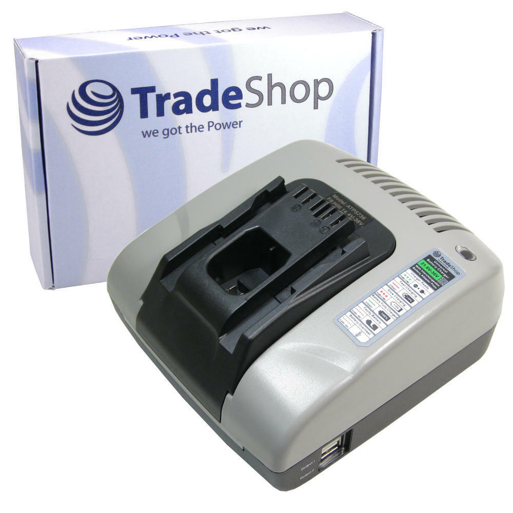 TradeShop Akku Ladegerät 220V Ladestation für Hilti AG125-A22 HDE500-A22 SCM22-A