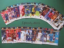 Panini Adrenalyn FIFA 365 One to Watch all 21 complete Reus Müller Ödegaard
