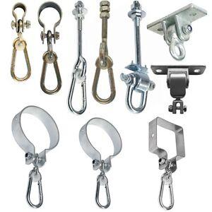 Schaukelhaken-Schaukelschelle-Schaukelbefestigung-Karabinerhaken-Sicherheitshake