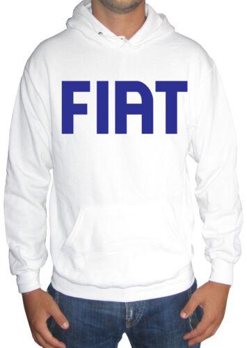 Fm10 Kapuzenpulli Herren Fiat Druck Grün Weiß Rot Sport