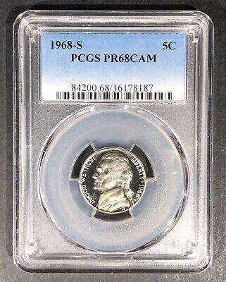 1962 Proof Jefferson Nickel PCGS PR-68 Buy 3 Items Get $5 Off!!