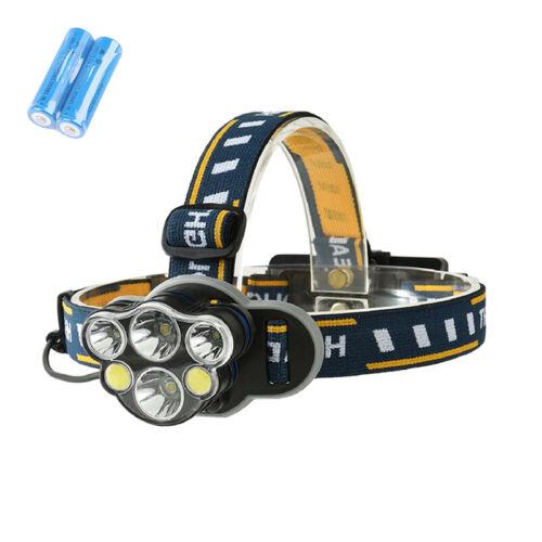 Super Bright 100000LM CREE XM-L T6 LED Headlamp Headlight Flashlight Head Torch