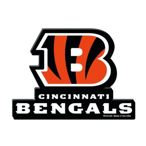WinCraft NFL CINCINNATI BENGALS Premium Magnet NEU//OVP