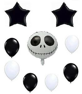 Nightmare Jack Theme Jointed Banner Happy Birthday Party Decoration Event