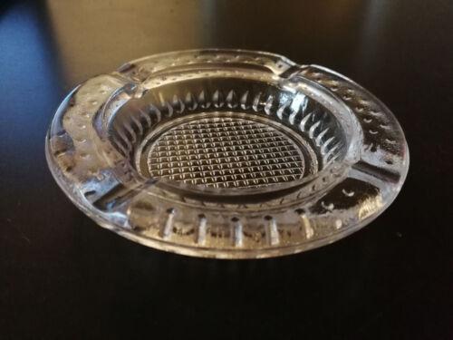 10 cm DDR Retro Glas Aschenbecher NEUWARE stapelbar Ostalgie Sammlerstück ca