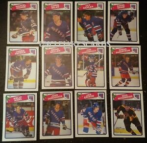 1988-89-OPC-NEW-YORK-RANGERS-Select-from-LIST-NHL-HOCKEY-CARDS-O-PEE-CHEE