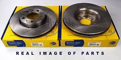 Front Brake Pads Brake Discs Full Axle Set 286mm Vented Fits Volvo XC70 D5 AWD