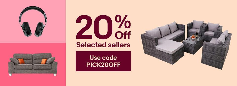 - 20% off your garden getaway or indoor retreat