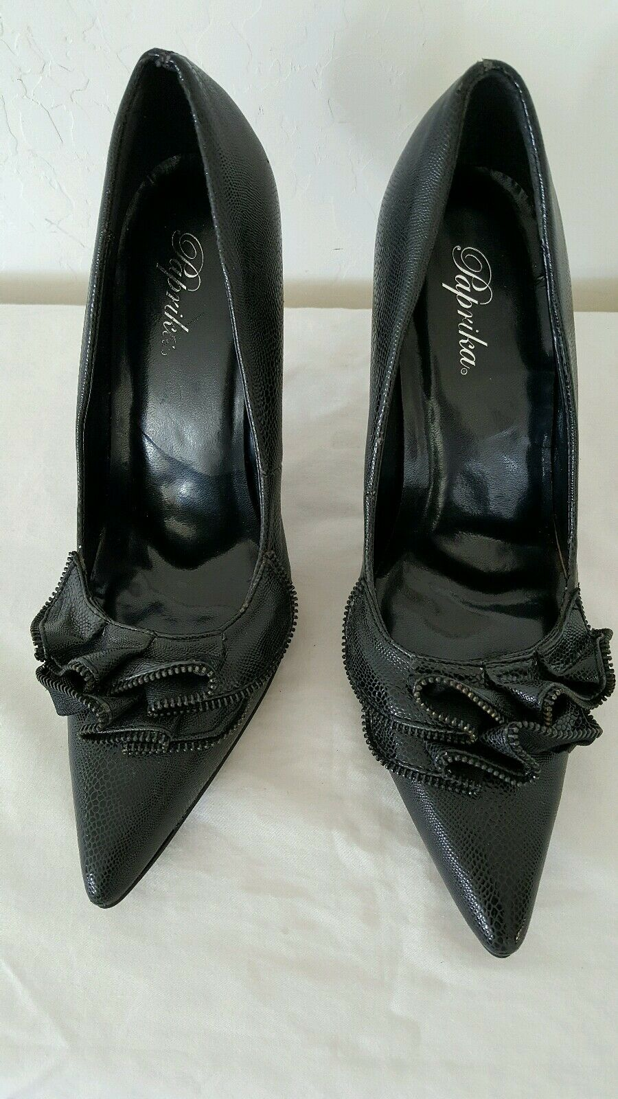 Paprika women's shoes. Gorgeous SZ and sexy black pumps SZ Gorgeous 9 8a8acd